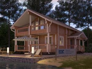 Новый проект дома «Карелия»