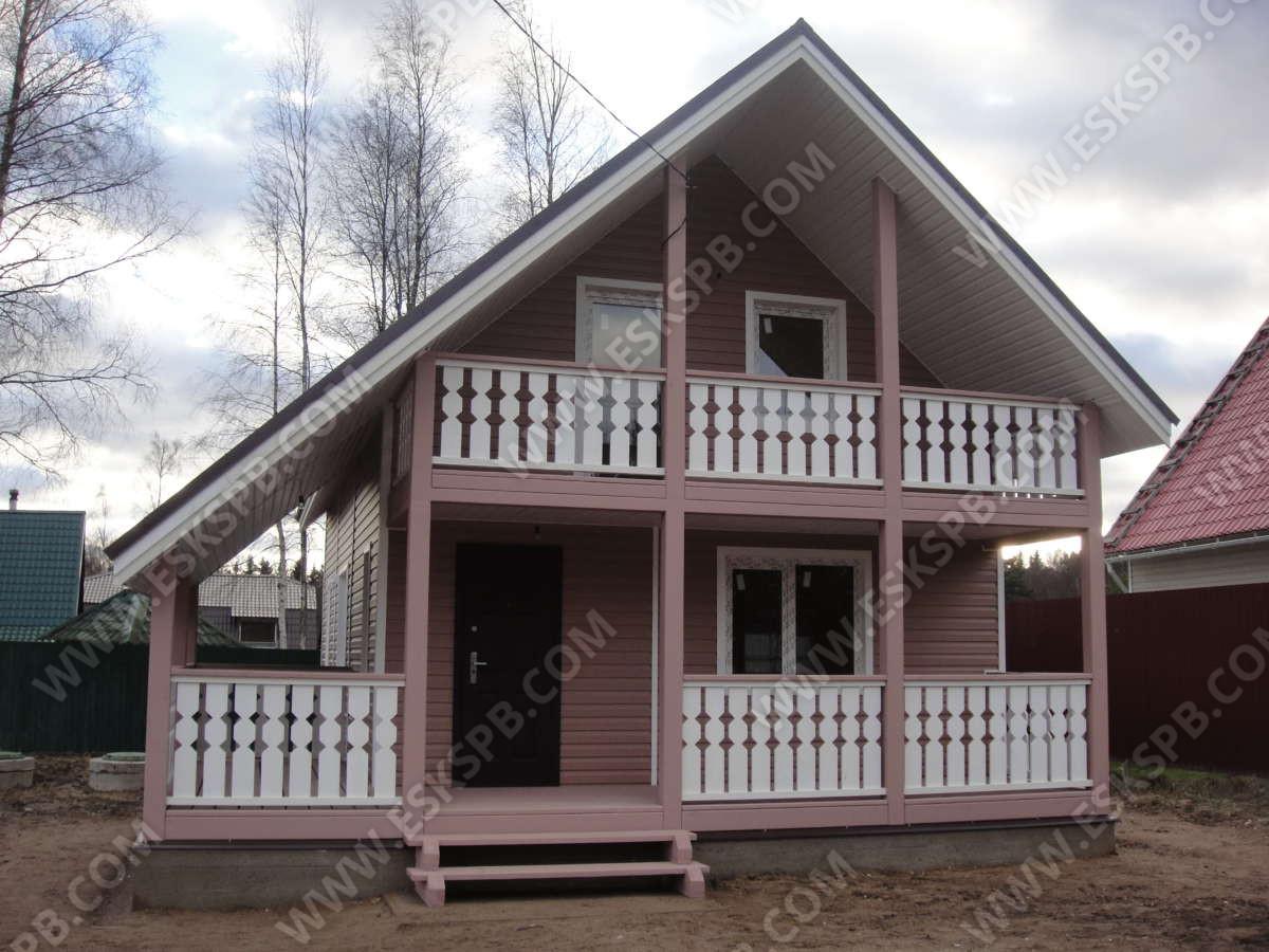 Дом по проекту Серьезный