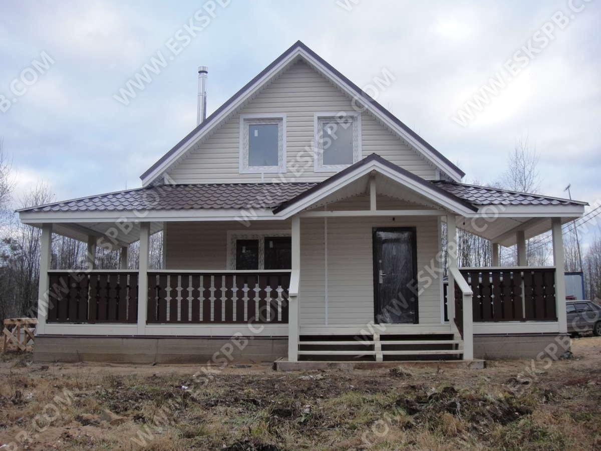 Дом по проекту Радушный