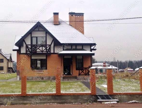 Дом из газобетона по индивидуальному проекту в комплектации закрытый контур