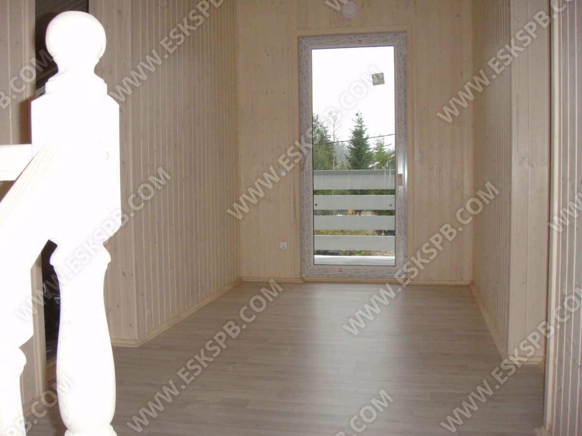 Каркасный дом в комплектации под ключ по проекту Европейский