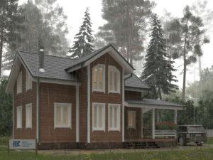 Новый проект дома «Егерь»