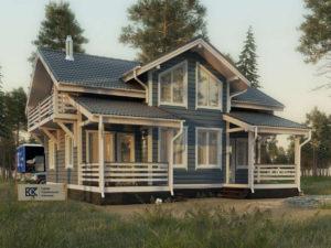 Новый проект дома «Флагман»