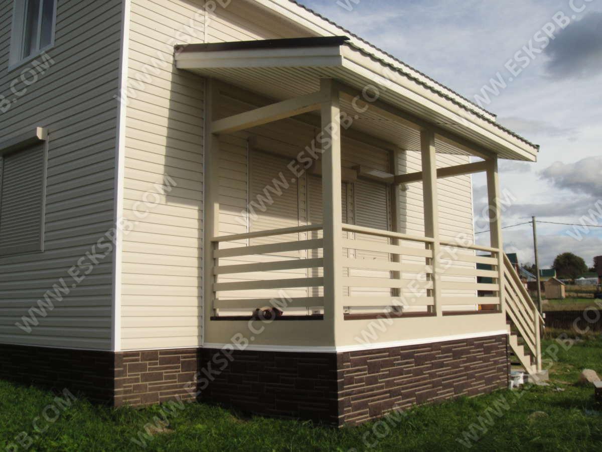 Каркасный дом по проекту Северный