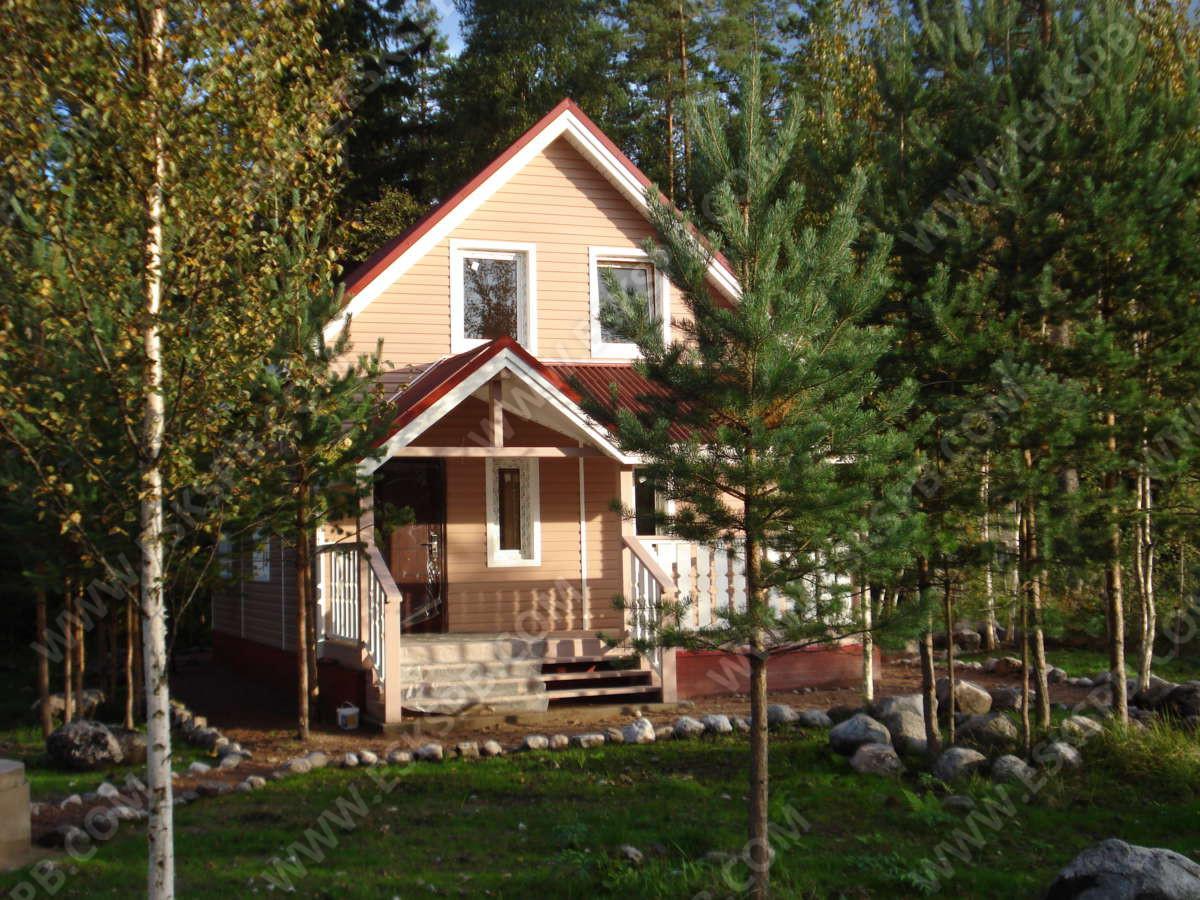 Дом про проекту Дачник