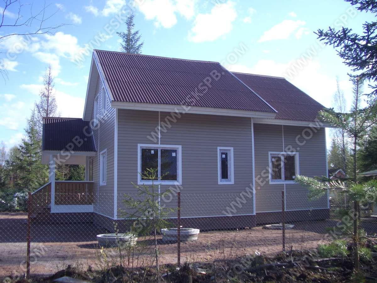 Дом с полной отделкой