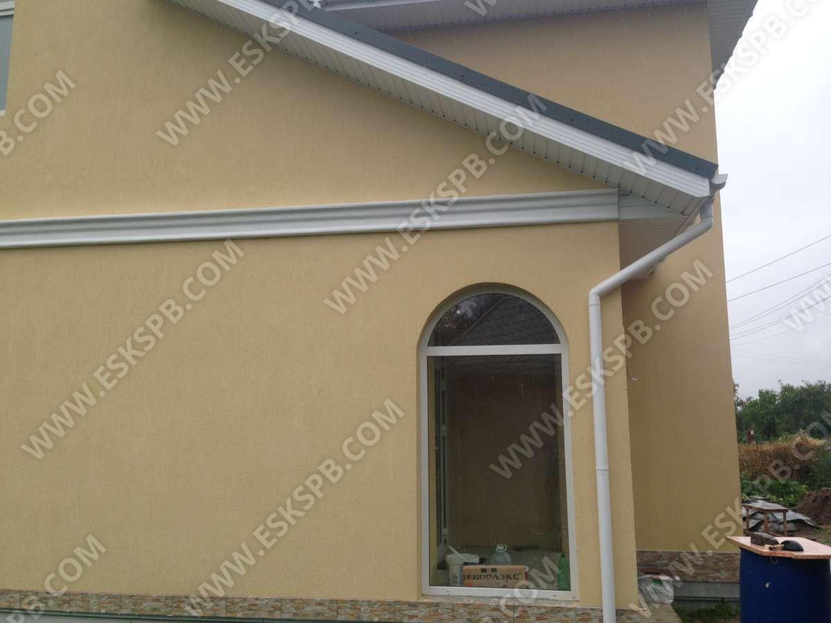 Дом из газобетона по индивидуальному проекту в комплектации под ключ