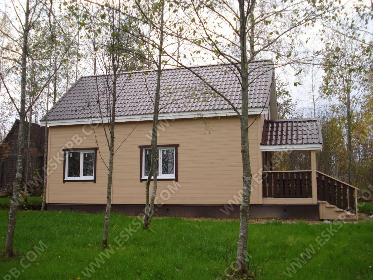 Дом по проекту Дачник