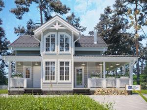 Новый проект каркасного дома «Майский»