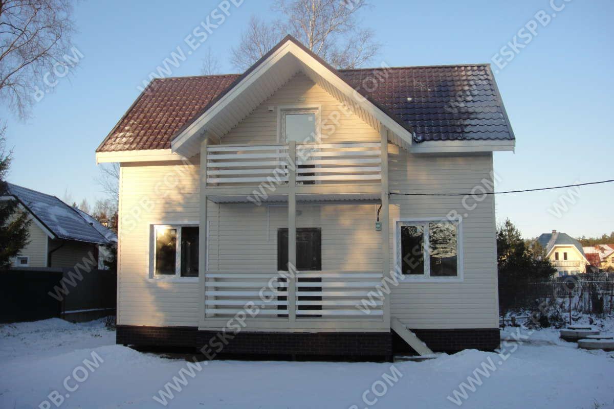 Каркасный дом по проекту Благородный