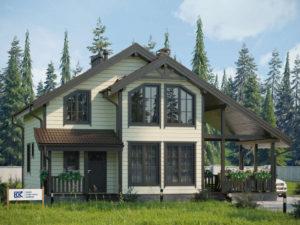 Новый проект каркасного дома «Легенда»