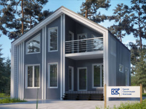 Новый проект каркасного дома «Норвежец»