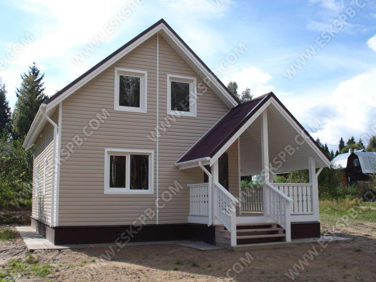 Каркасный дом с полной отделкой