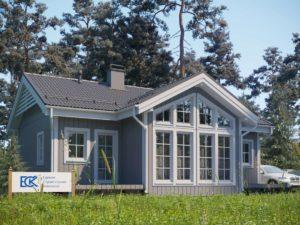 Новый проект каркасного дома «Лотос»