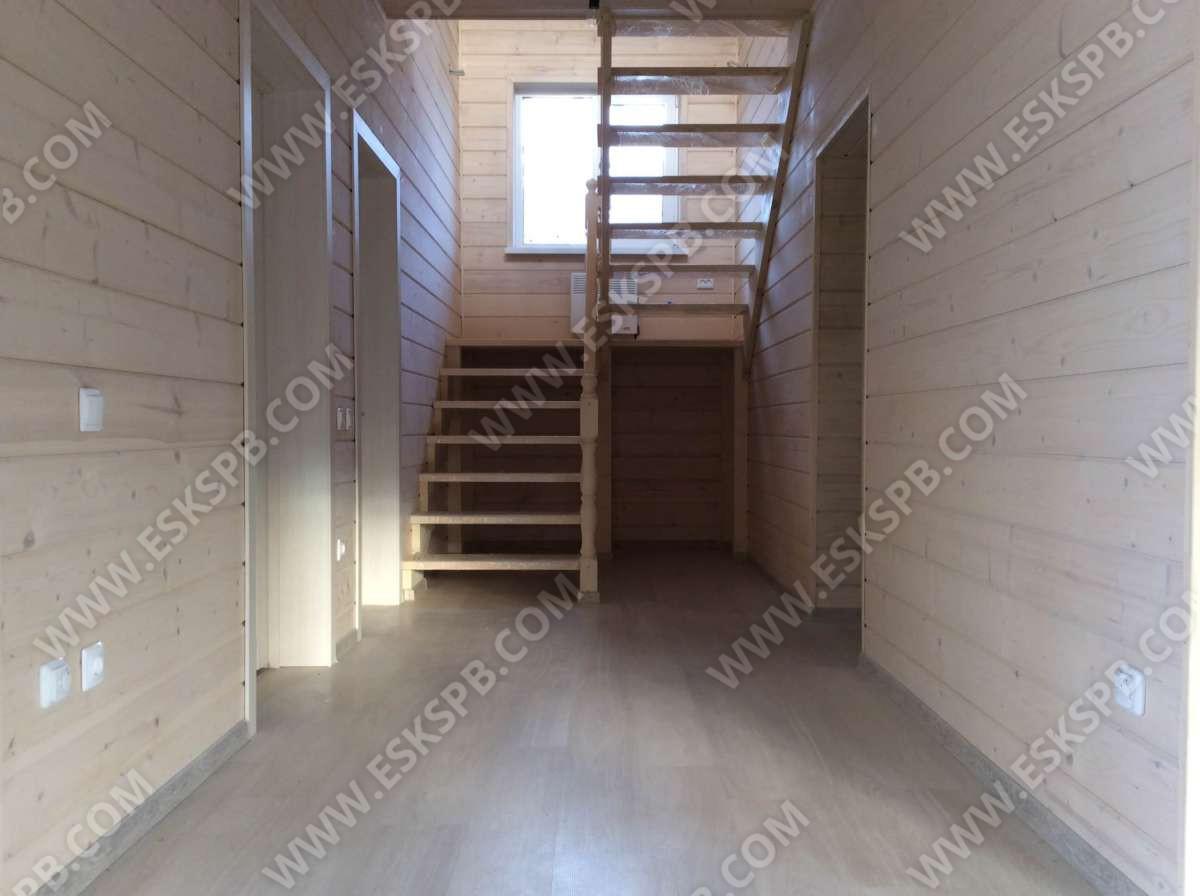 Каркасный дом по проекту Тампере в комплектации под ключ плюс инженерный пакет
