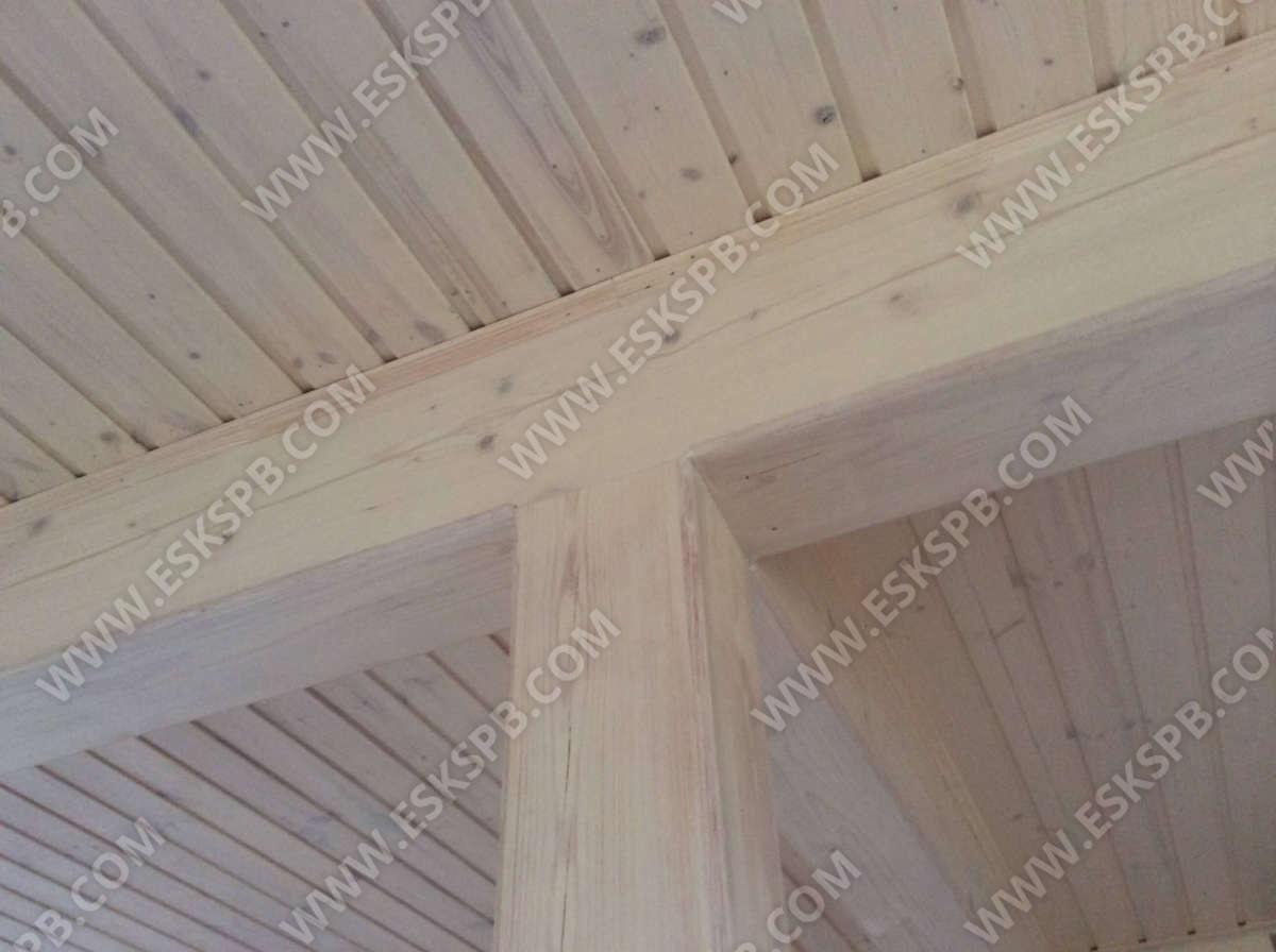 Каркасный дом по проекту Майский в комплектации под ключ плюс инженерный пакет