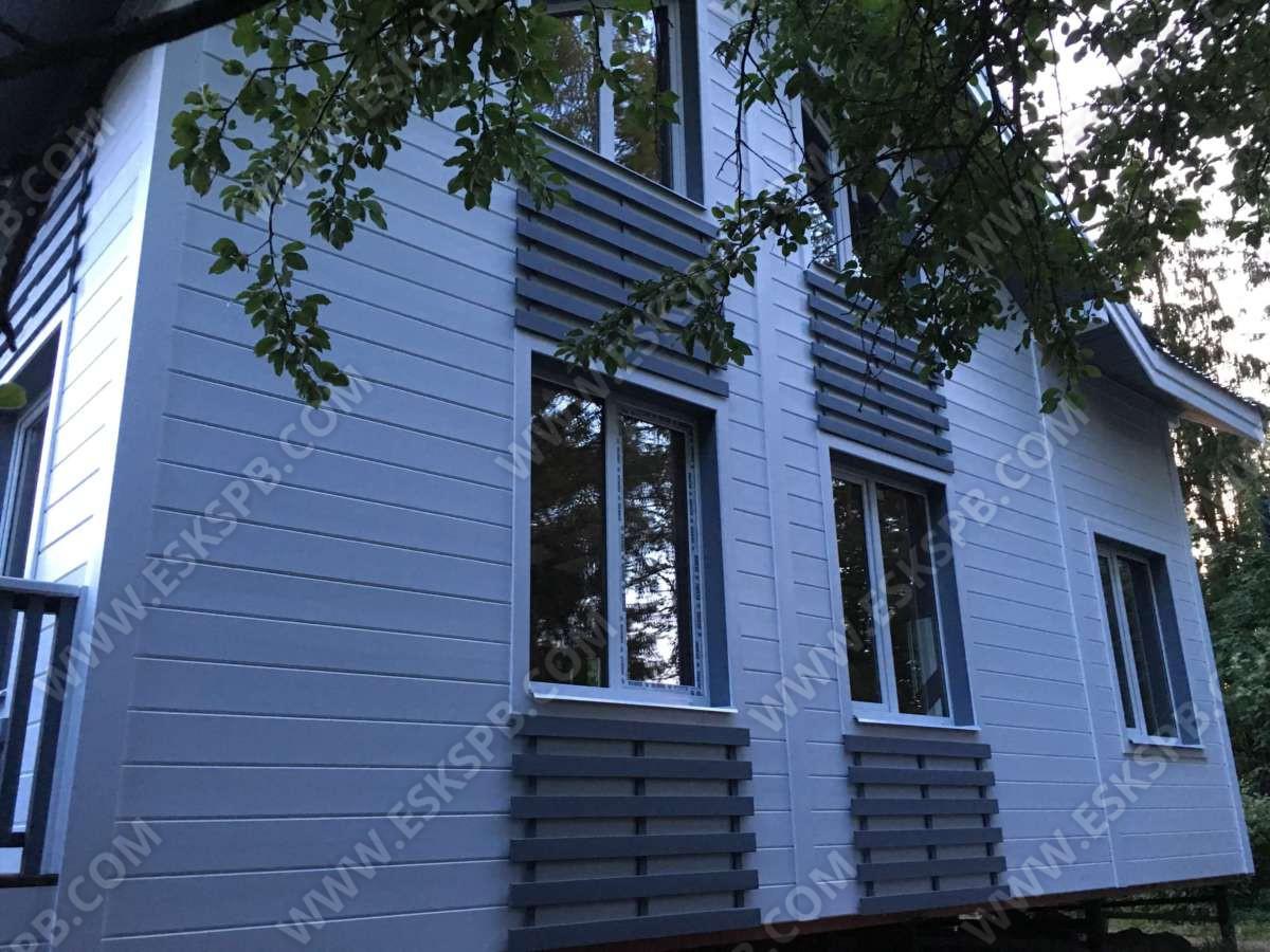 Каркасный дом по проекту Камелия в комплектации под ключ