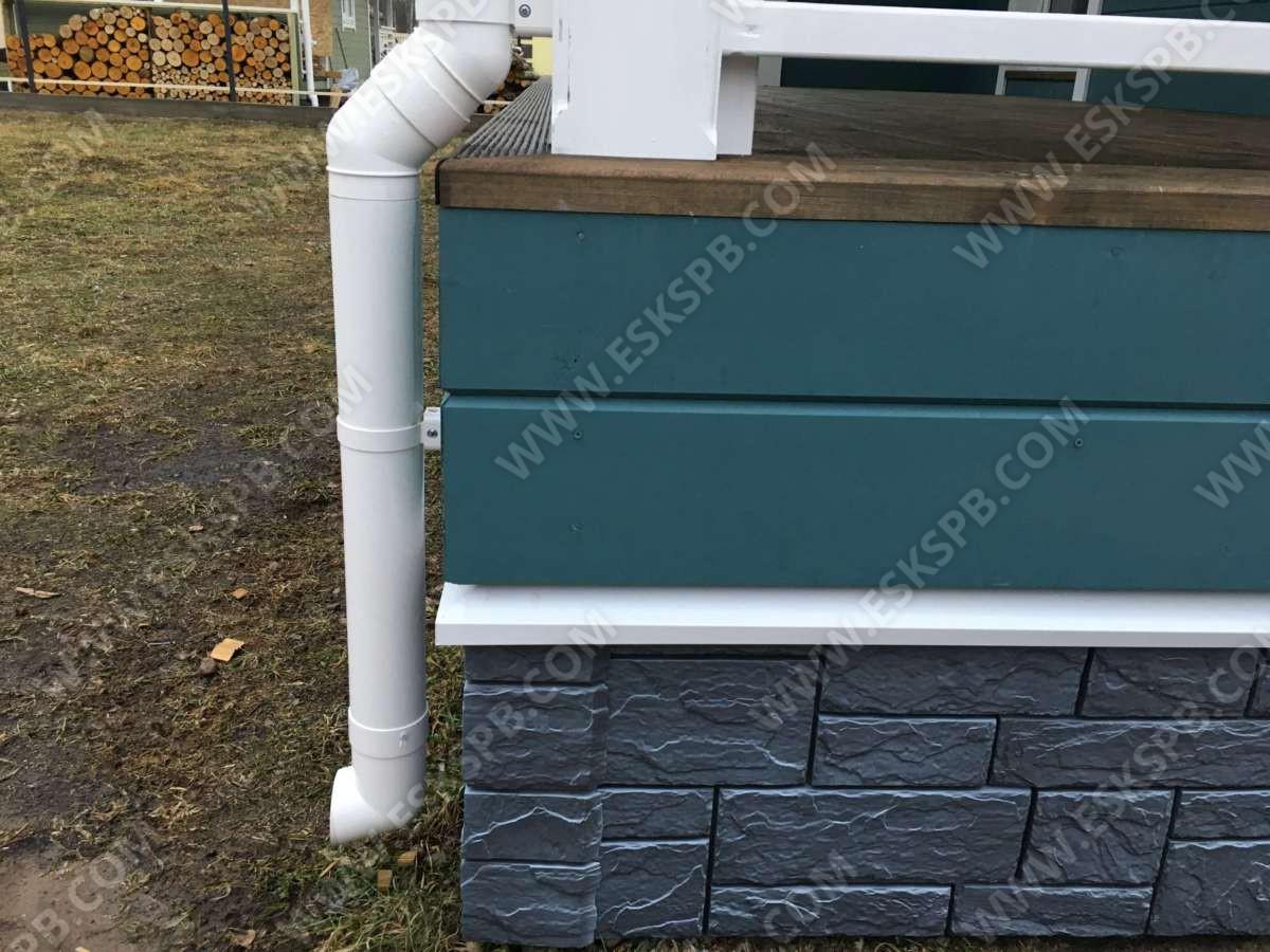 Каркасный дом по проекту Июнь в комплектации под ключ
