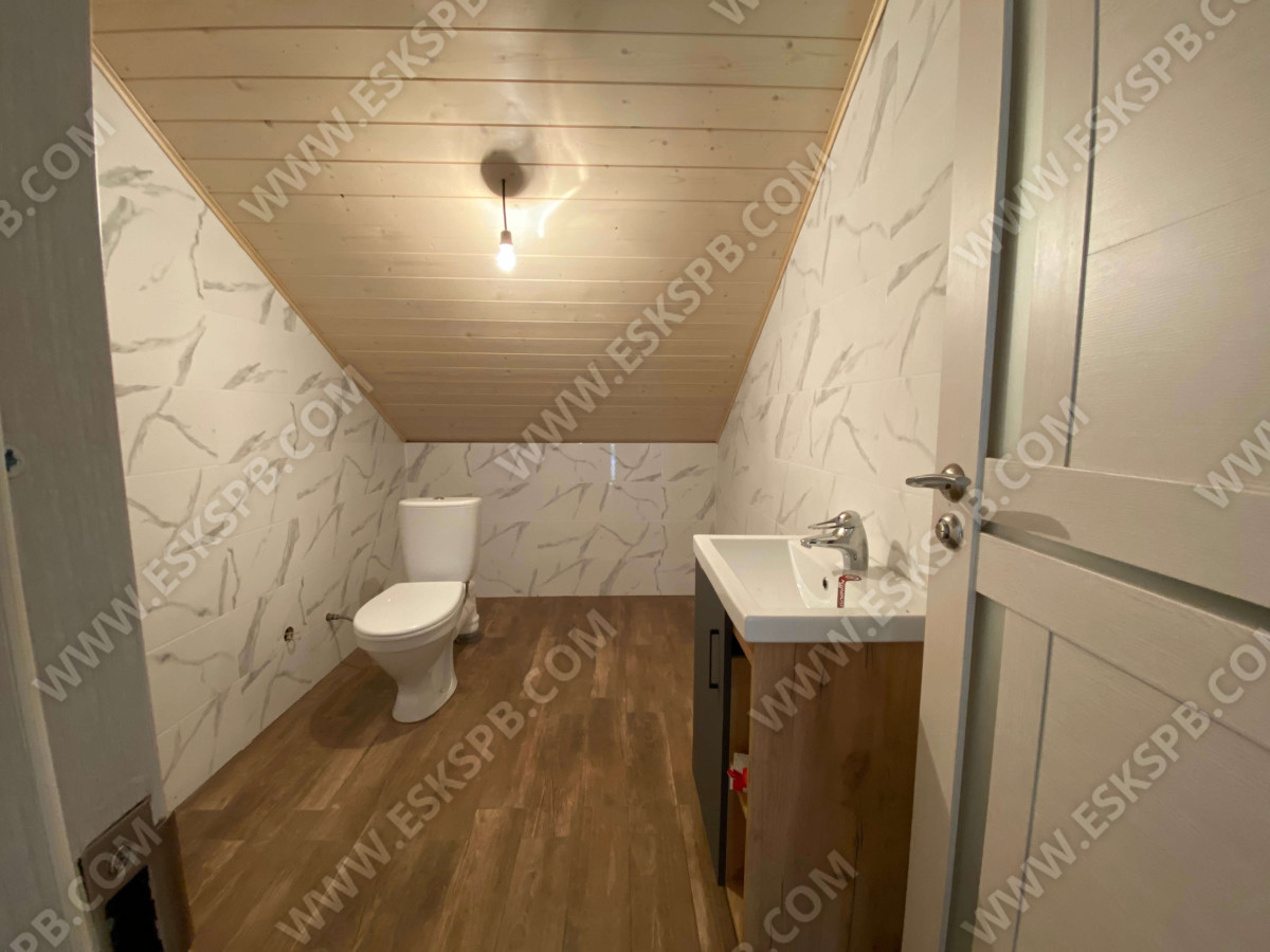 Каркасный дом по проекту Лорд в комплектации под ключ