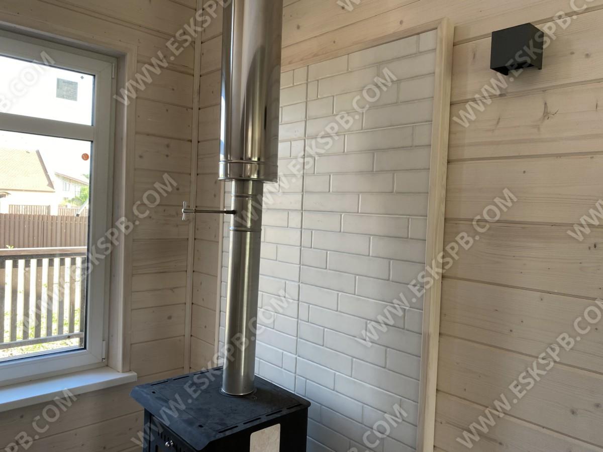 Каркасный дом в комплектации под ключ